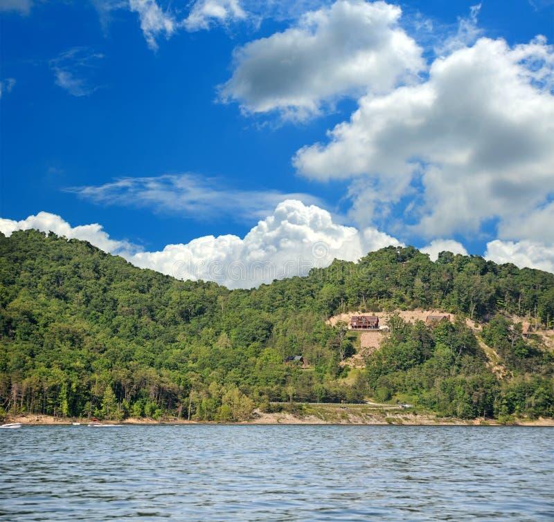 jezioro do jaskini Kentucky, usa fotografia royalty free