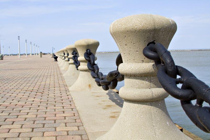jezioro Erie krawędzi. fotografia royalty free