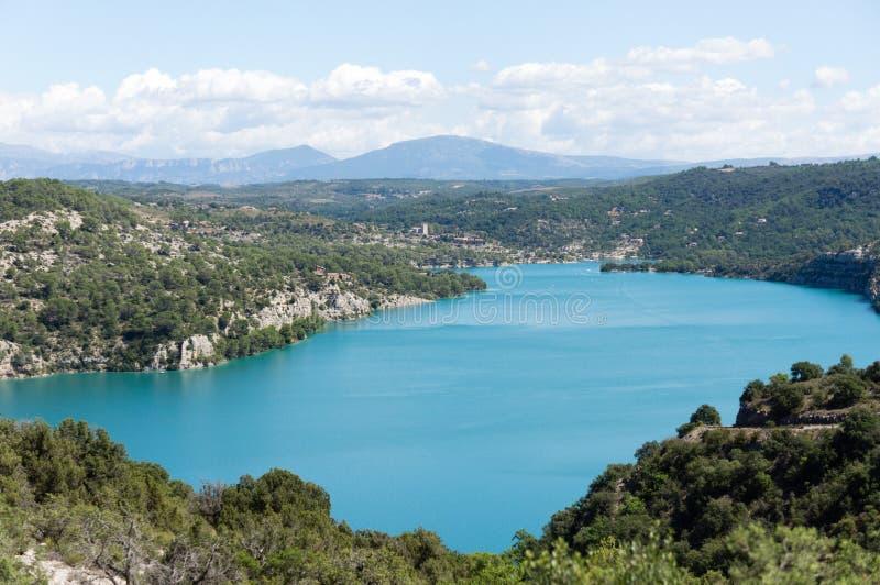 Jezioro Esparron obrazy stock