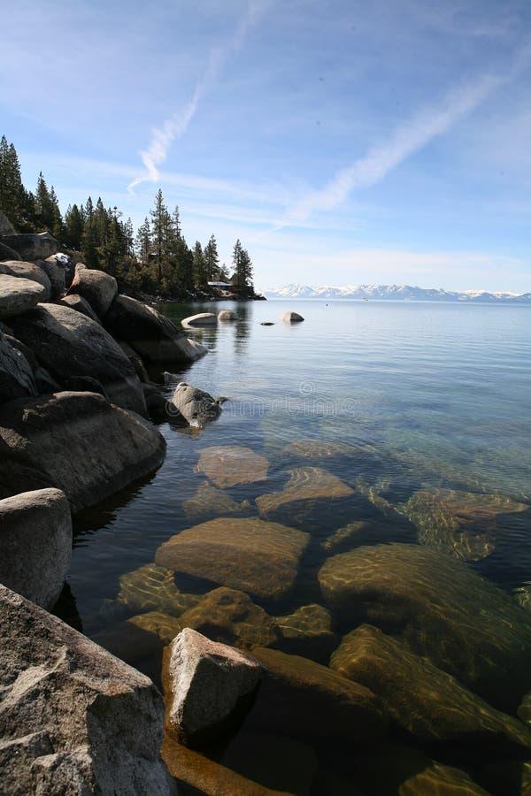 jezioro góry krajobrazowa rock obraz stock