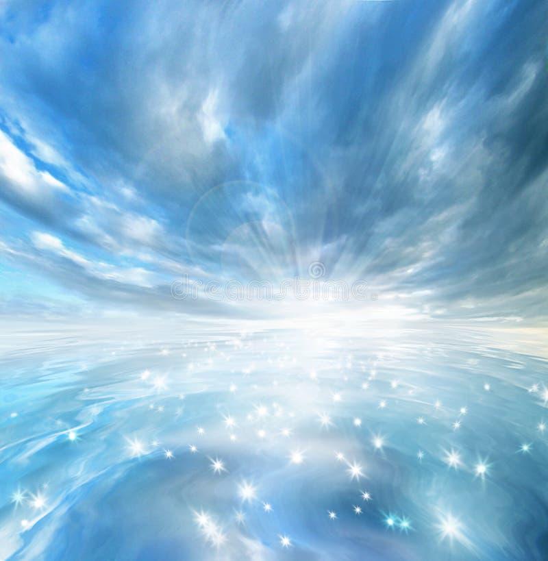 jezioro gwiazda ilustracji