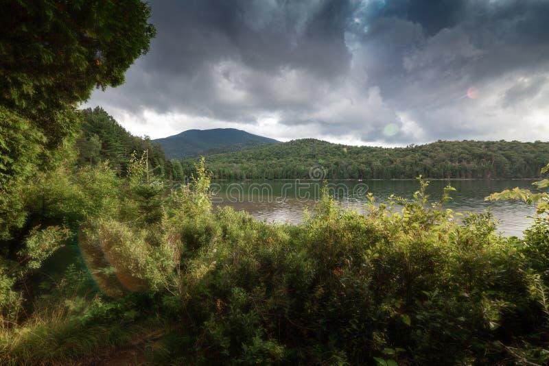 Jezioro i góry USA obrazy royalty free