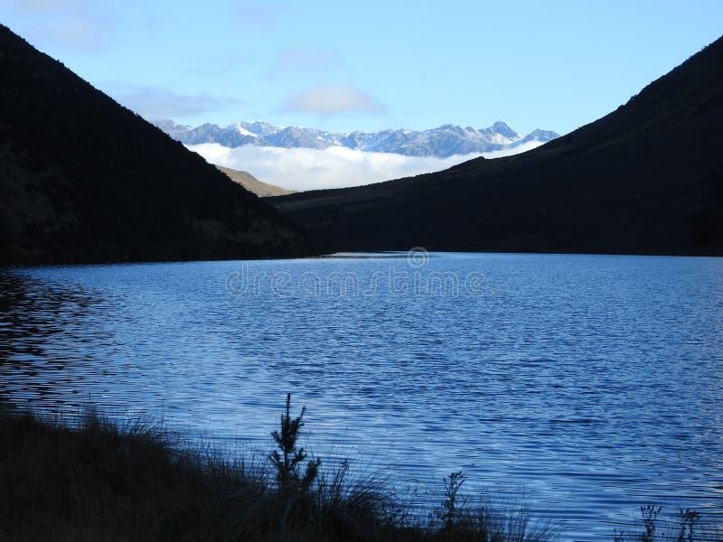 Jezioro Ida i Alps obraz royalty free