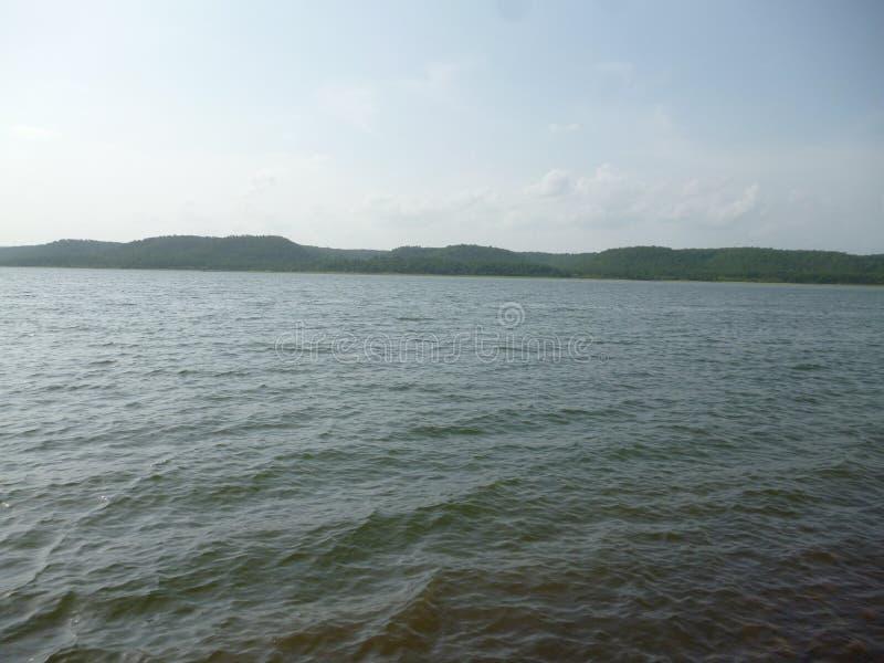 Jezioro Klęskie Nagpur w Indiach zdjęcie royalty free