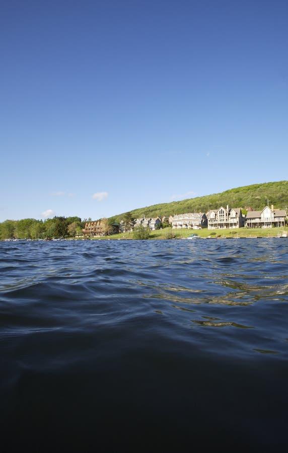 jezioro kurort fotografia royalty free