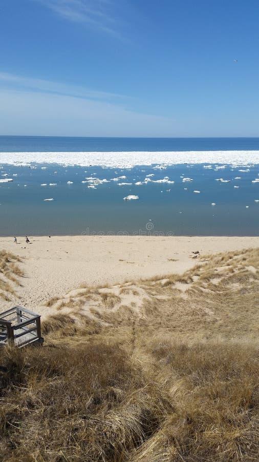 jezioro michigan zdjęcie stock