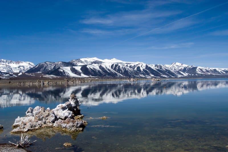 jezioro mono - zdjęcia stock