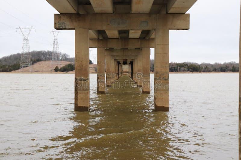 Jezioro most zdjęcia stock