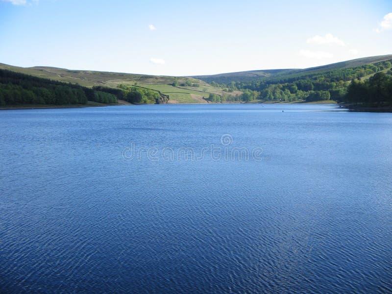 jezioro na wsi obraz stock