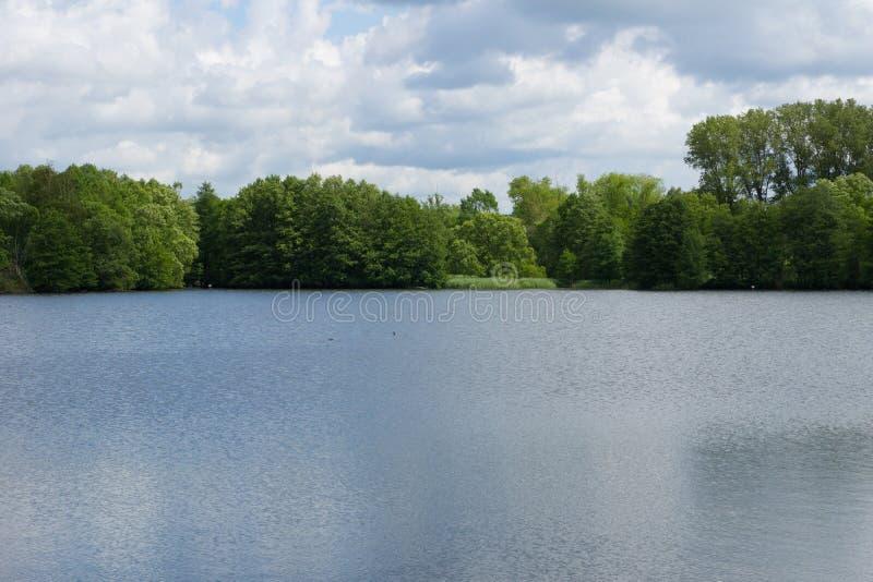 Jezioro naturalny fotografia royalty free