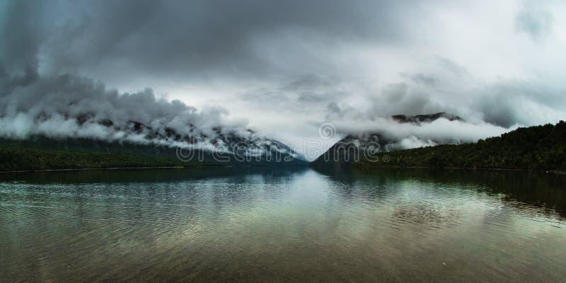 jezioro nelson obraz royalty free