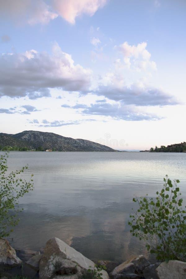 jezioro palisaduje niebo obraz royalty free