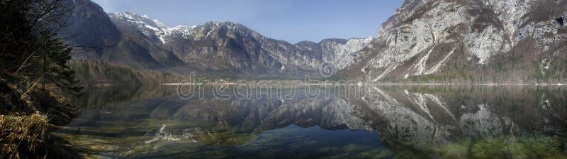 Jezioro Panoramiczny Zdjęcia Stock