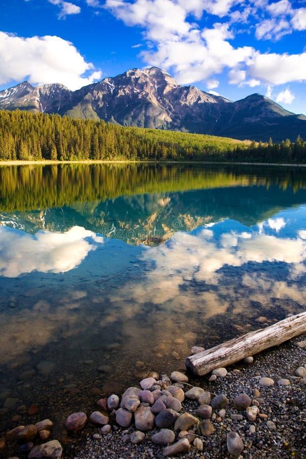 jezioro Patricia dawn zdjęcie stock