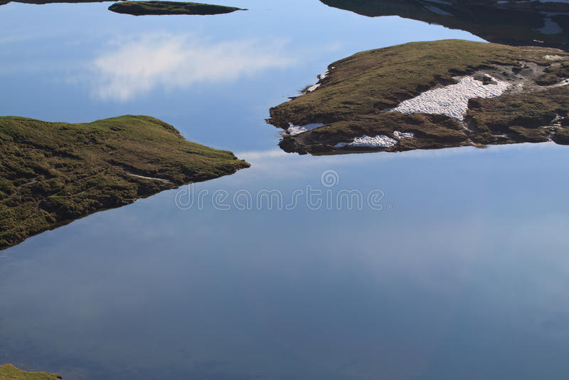 Jezioro plany zdjęcie stock