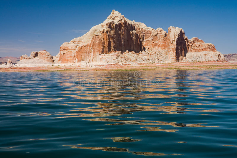 jezioro Powell obraz royalty free