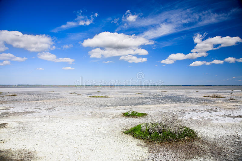 jezioro sól zdjęcie stock