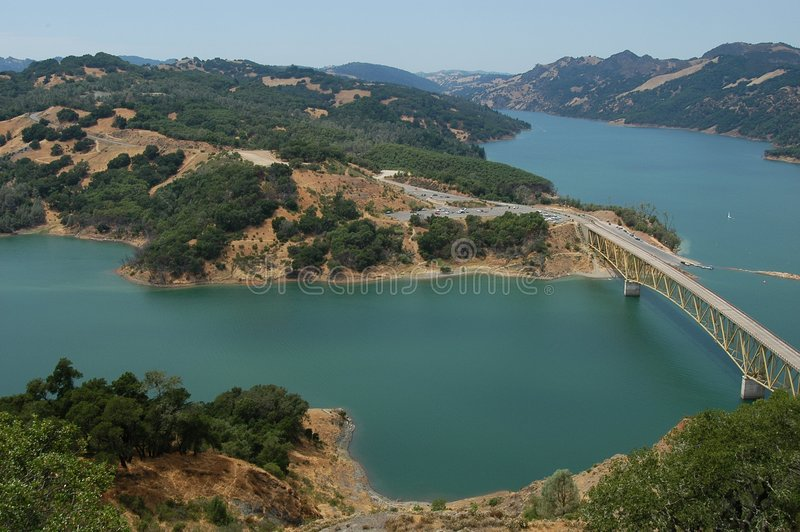 Jezioro Sonoma Obrazy Stock