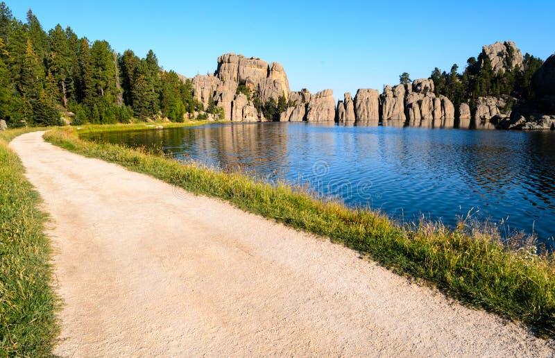 jezioro sylvan zdjęcie royalty free