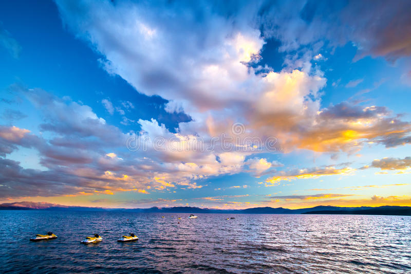 jezioro tahoe kalifornii zdjęcia royalty free