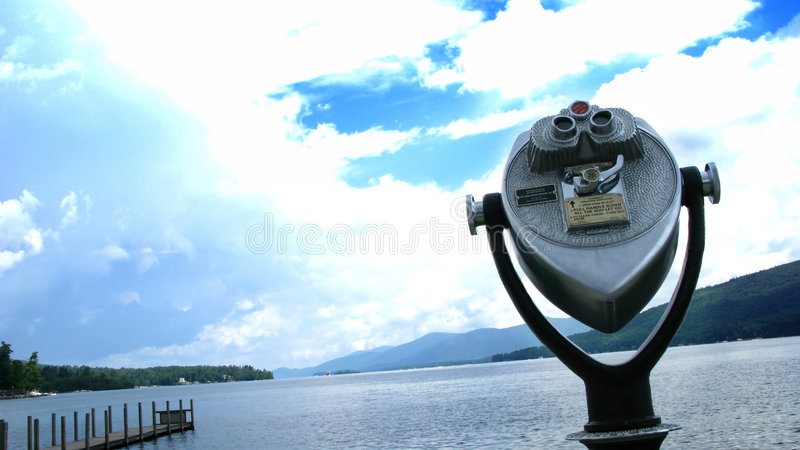 jezioro teleskop zdjęcie stock