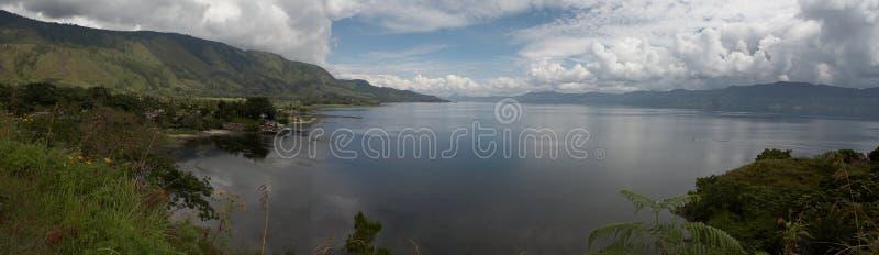 jezioro Toba zdjęcia stock
