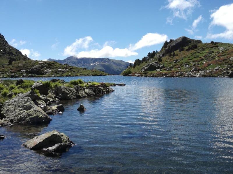 Jezioro Tristania zdjęcie stock