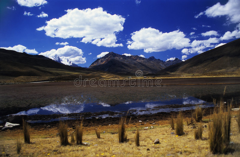 jezioro valey regionu kaca zdjęcia stock
