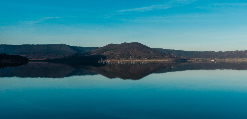 Jezioro Vico obrazy royalty free