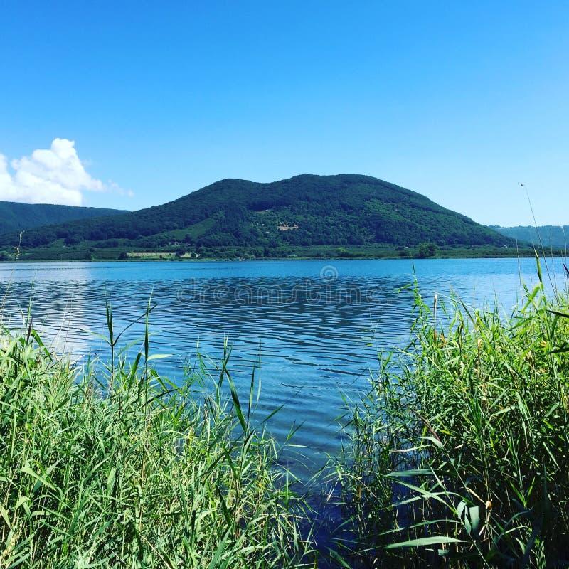 Jezioro Vico obraz royalty free