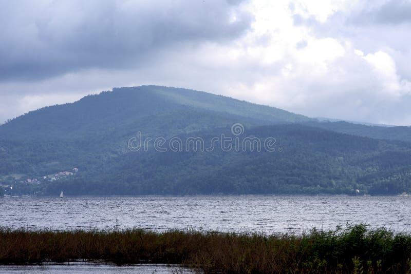 Jezioro w Żywiec fotografia royalty free