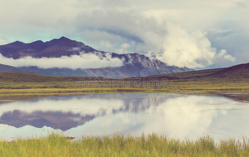 Jezioro w Alaska obrazy royalty free