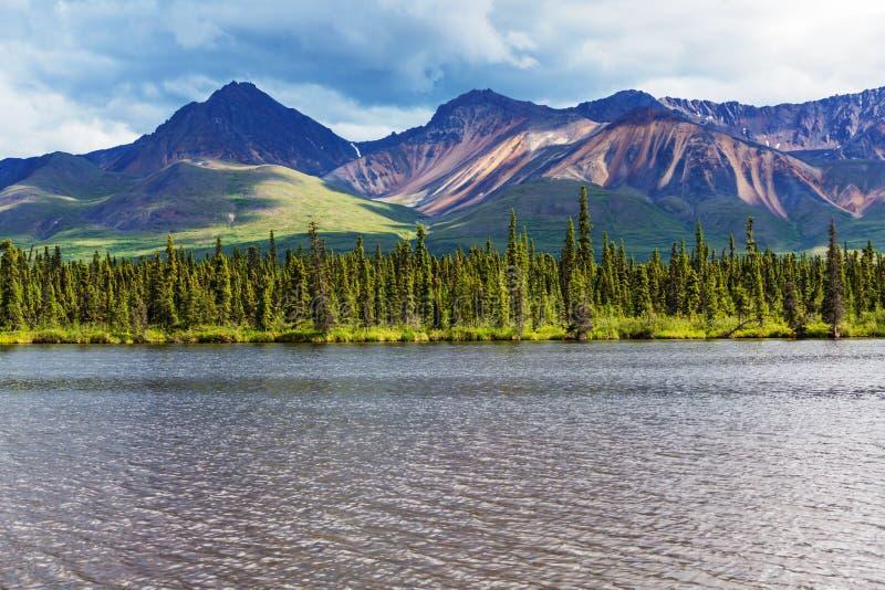Jezioro w Alaska fotografia stock