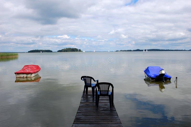 jezioro w Bałtyckim, Europa zdjęcie stock