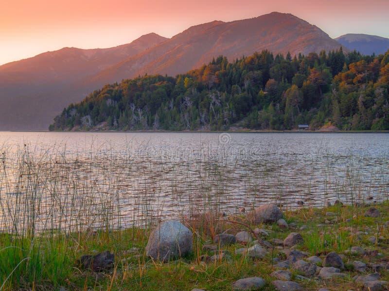 Jezioro w Bariloche zdjęcie stock