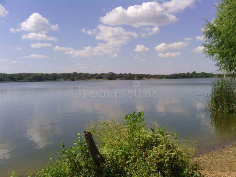 Jezioro w cleburne obraz stock