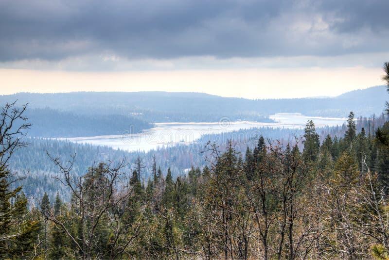 Jezioro w sierra Nevada fotografia royalty free