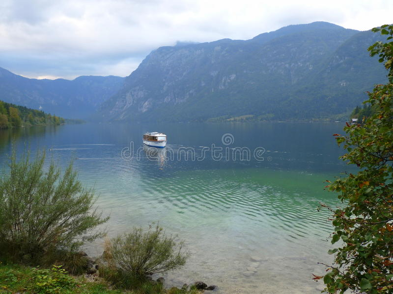 Jezioro w Slovenia zdjęcia royalty free