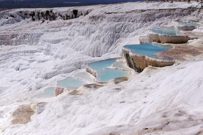Jezioro w wapień górach zdjęcie stock
