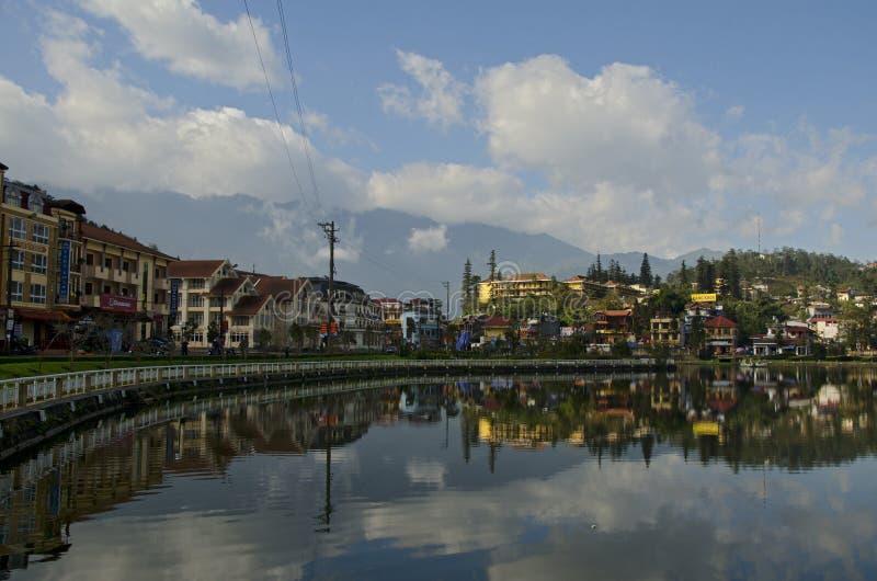 Jezioro w Wietnam (2) zdjęcie stock