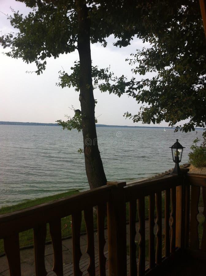 Jezioro w wizerunku poland fotografia royalty free