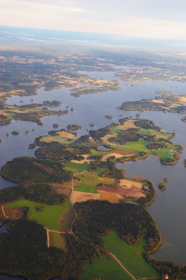 jezioro ziemi zdjęcie royalty free