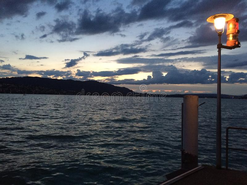 jezioro Zurych fotografia stock