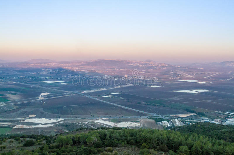 Jezreel Valley, Israel royalty free stock image
