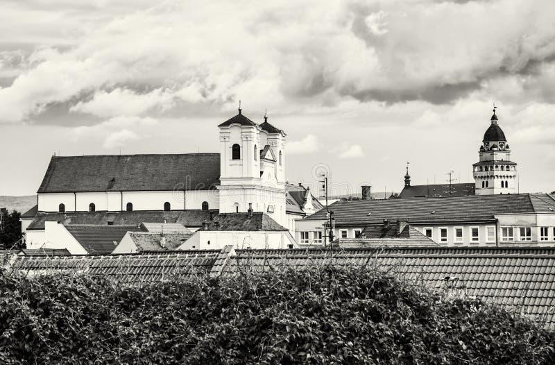 Jezuïetkerk en Parochiekerk van de aartsengel Michael van heilige in Sk royalty-vrije stock fotografie