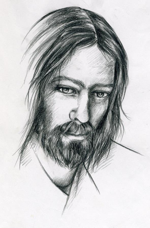 Jezu chryste ilustracja wektor