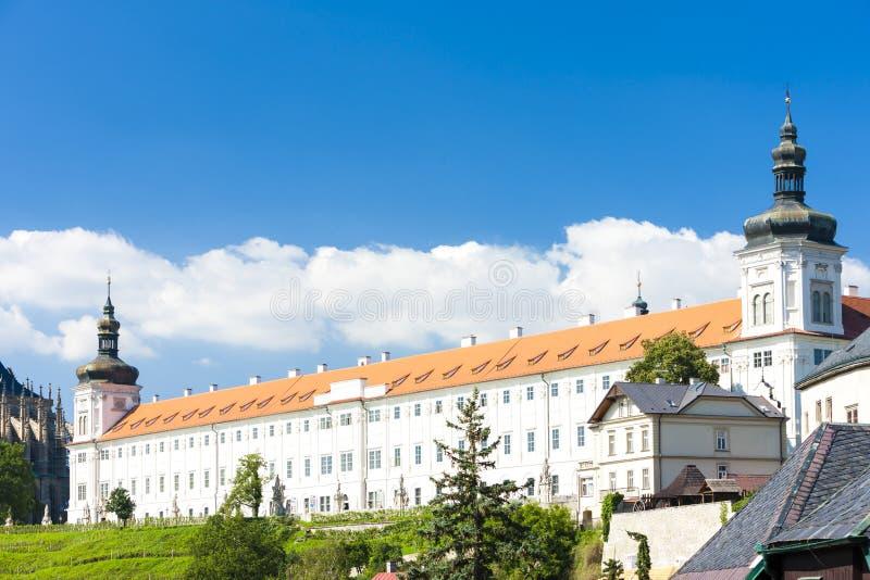 Jezu?etuniversiteit, Kutna Hora, Tsjechische republiek stock fotografie
