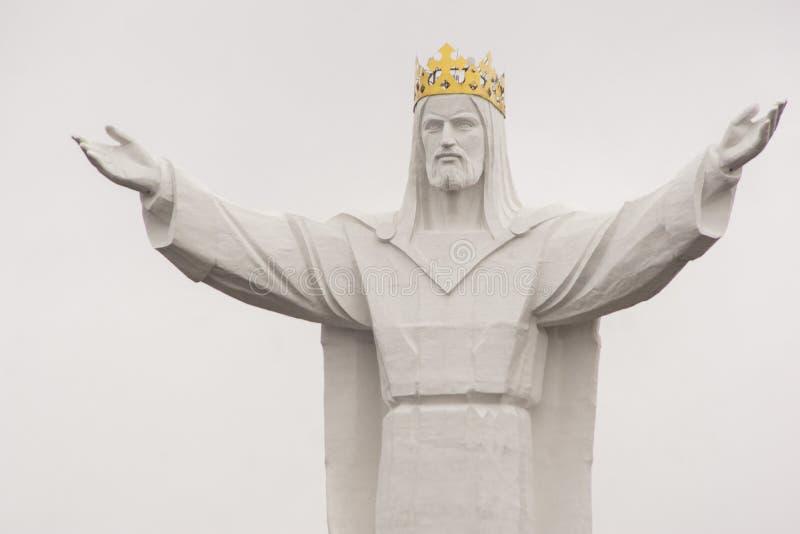 Jezus Chrystus królewiątko zabytek zdjęcie stock