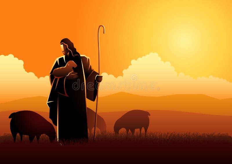 Jezus jako baca ilustracji