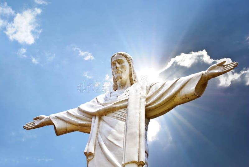 Jezusowa statua obrazy stock